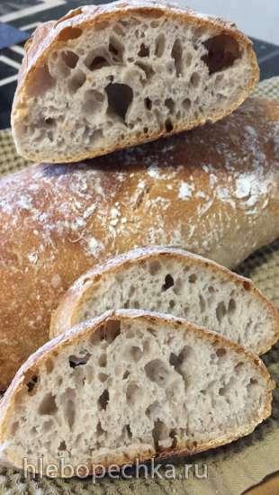 Пшенично-ржаной хлеб  от Пьера Нури - Pierre Nury's Rustic Light Rye