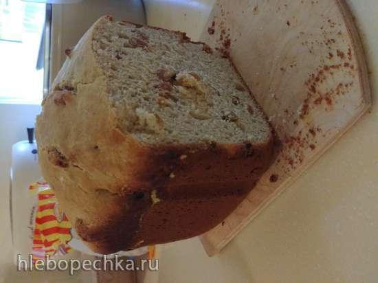 Кулич на закваске в хлебопечке