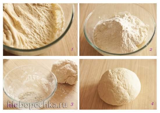 Булочки хлебные, приготовленные на пару в сковороде и в пароварке