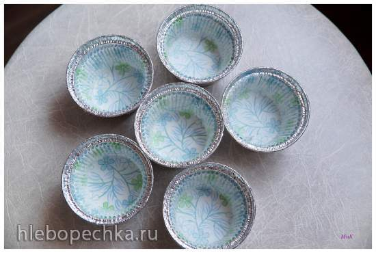 Японские пирожные, приготовленные на пару (Mushi Pan - 蒸しパン)