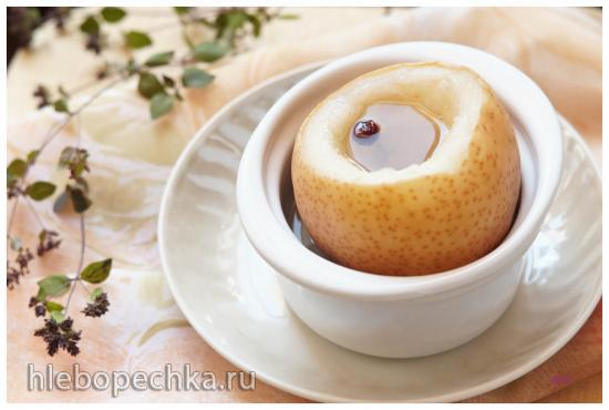 Груша, приготовленная на пару. Осенний десерт с лечебным эффектом