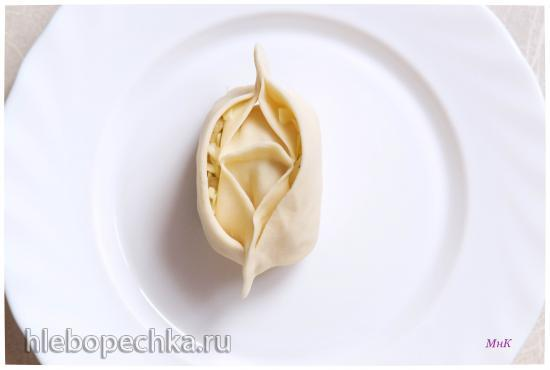 Тесто для пельменей по-китайски
