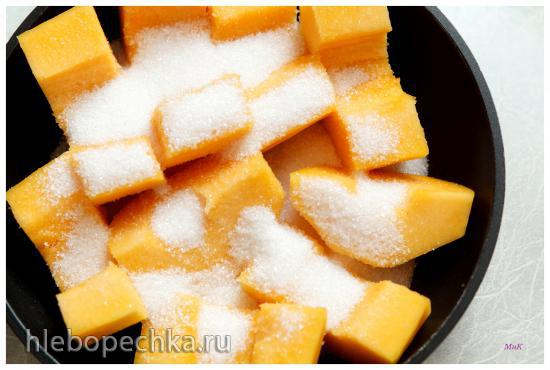 Десерт из тыквы (Kabak Tatlısı Nasıl Yapılır)