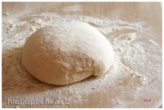 Пивной хлеб с поджаренным ячменем по рецепту из книги «Хлеб. Технология и рецептуры» Дж. Хамельмана