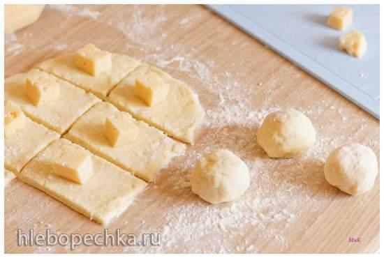 Булочки имбирные с сыром