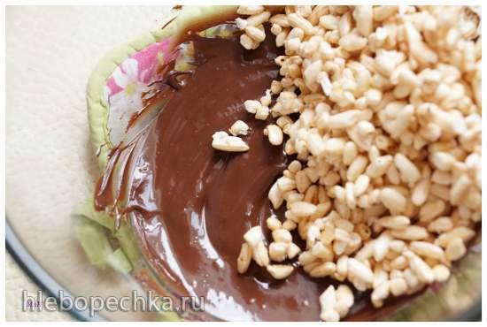 Ягодный десерт с заварным кремом