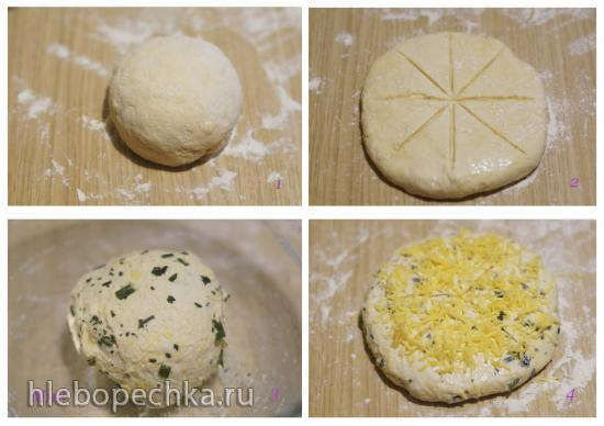 Демпфер - австралийский хлеб (Damper australian bread)