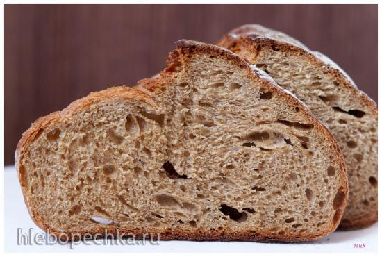 Хлеб пшенично-ржаной на кислом тесте