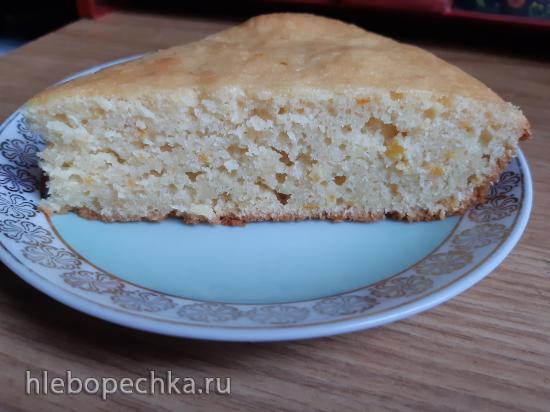 Апельсиновый кекс с ванильным сахаром