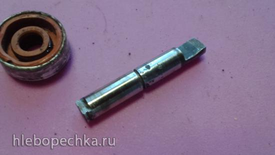 Замена сальника ведёрка хлебопечки Panasonic SD-255