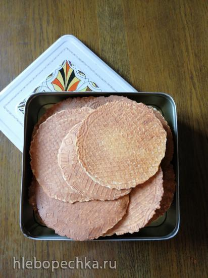 Творожные вафли от И. Лазерсона в вафельнице Gfgrill GF-020 Waffle Pro