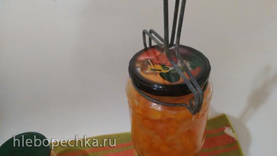 Болгарский перец, маринованный с морковью
