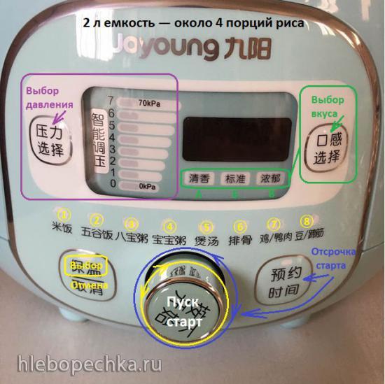 Скороварка Joyoung JYY-20m3