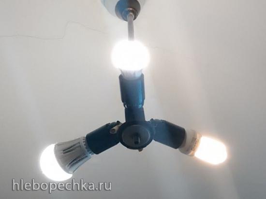 Выбор ламп для подсветки домашнего огорода