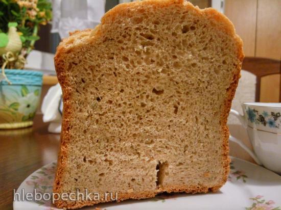 Ржано-пшеничный хлеб, чешский вариант