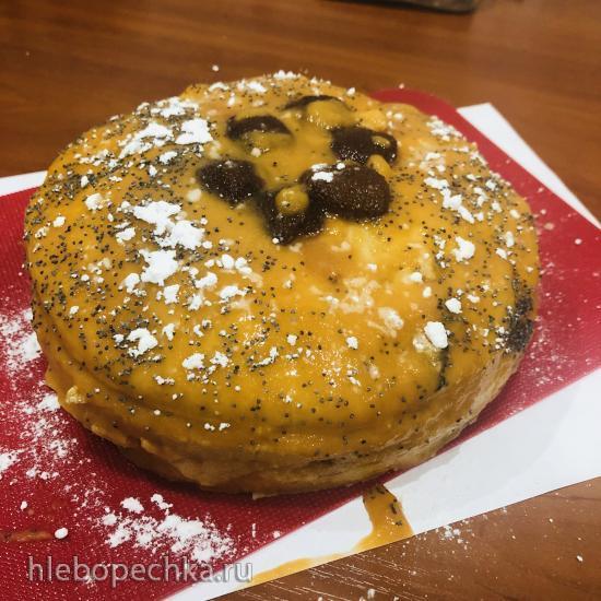 Торт персиковый (постный)