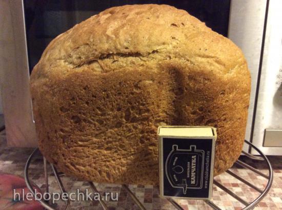 Panasonic SD-2501. Ржаной хлеб на основной программе 01