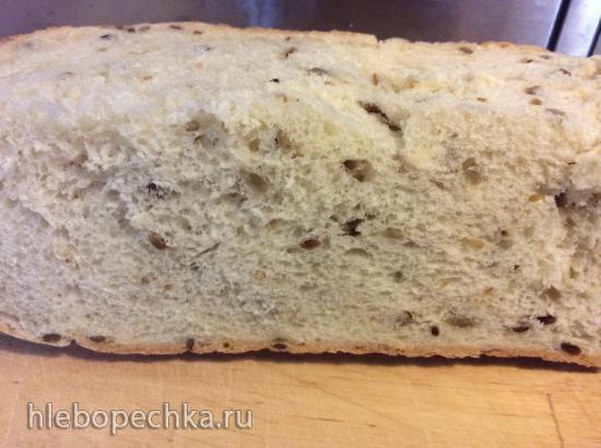 Panasonic SD 2501. Белый хлеб с семечками