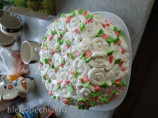 Почему крем тает при работе над тортом?