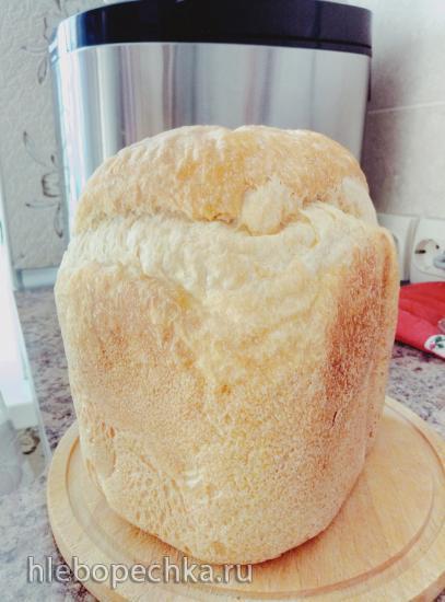 Хлеб из муки 1 сорта на сыворотке (духовка)