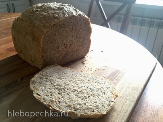 Panasonic SD-257. Цельнозерновой хлеб с семечками