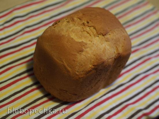 Хлеб пшеничный на кефире с яйцом в хлебопечке