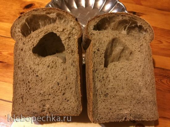 Хлеб в хлебопечке выпекается с большими пустОтами