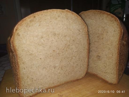 Moulinex OW240E30. Хлеб пшенично-ржаной на кефире