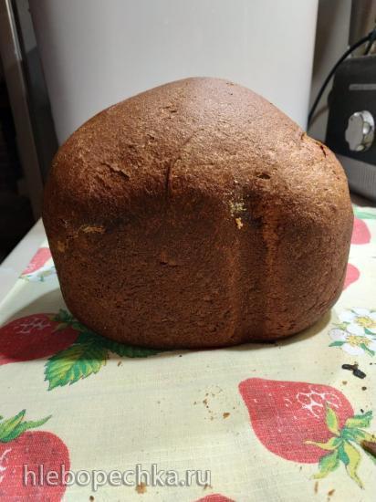 Ржано-пшеничный хлеб с чесноком и травами (Панасоник 2501)