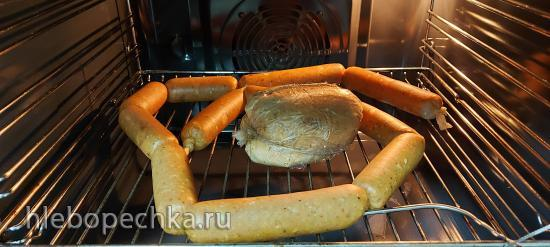 Куриные сосиски, сардельки, вареная колбаса, без нитритной соли (+видео)