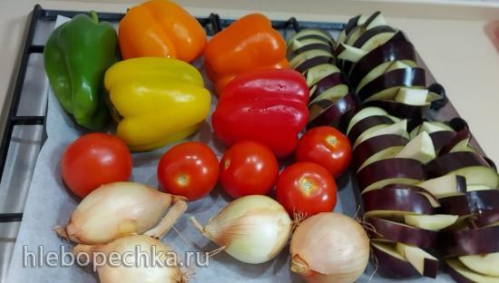 Овощной гриль по-корейски (+видео)