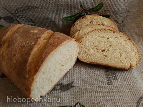 Деревенский хлеб на закваске Левито Мадре