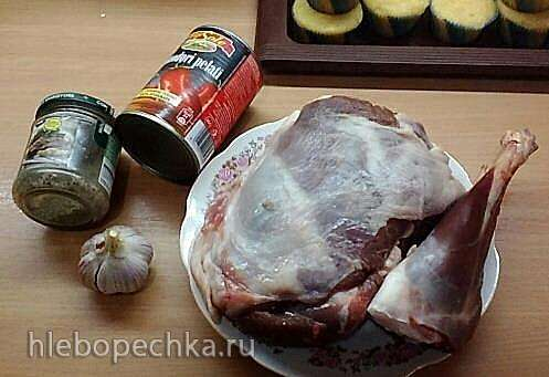 Баранина, тушеная с помидорами в мультиварке Panasonic