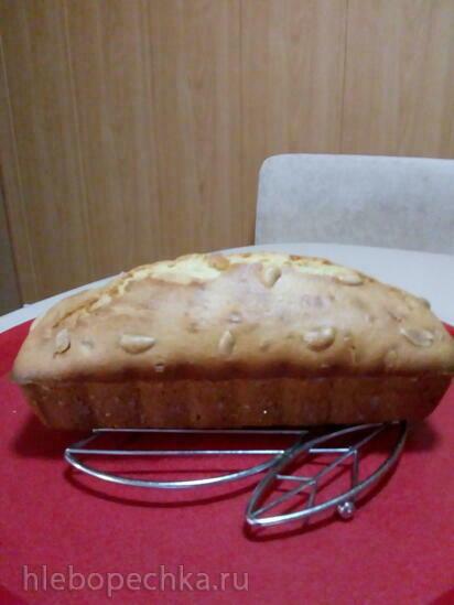 Кекс с ванилином (духовка)