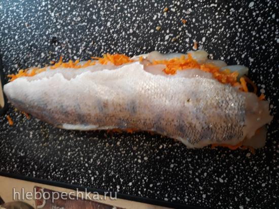 Рыба, запеченная в тесте