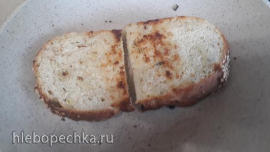 Яичный салат на тосте