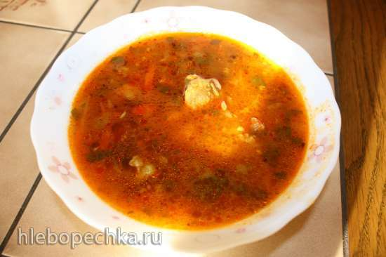 Суп «Харчо» в мультиварке Panasonic SR-TMH18