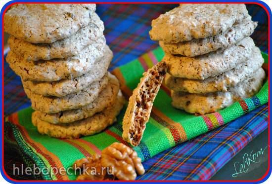 """Ореховое печенье без муки """"Минутка"""""""