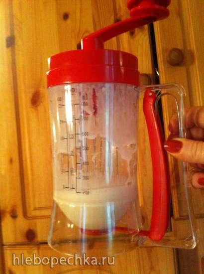 Применение пончикового дозатора для выпечки оладьев