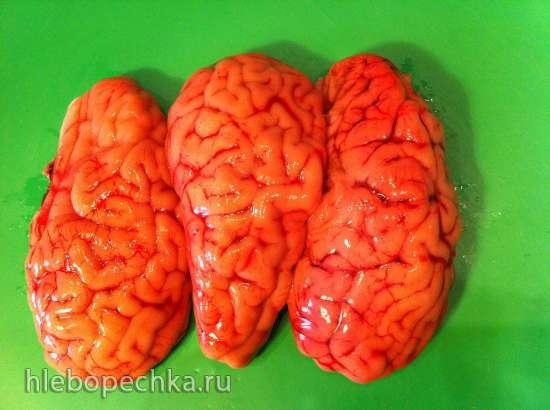 Matoschen (равиоли с мозгами и шпинатом)