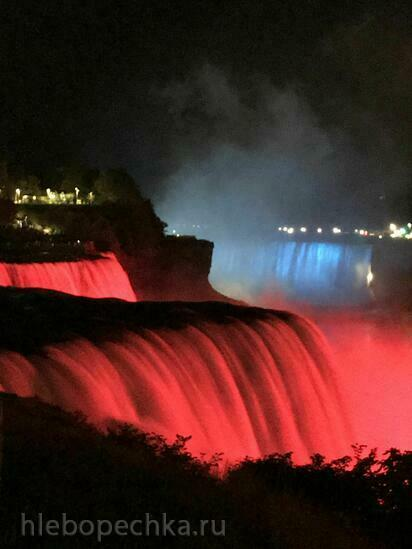 Ниагарские водопады Niagara Falls