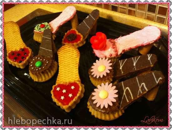 Маффины Туфельки (Muffin-Schuhe)