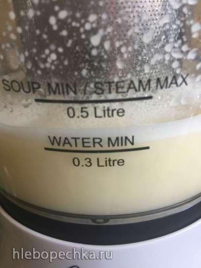 Кукурузное молоко в блендре-суповарке