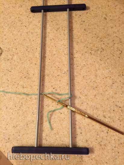 Вязание на вилке. Мастер-класс.