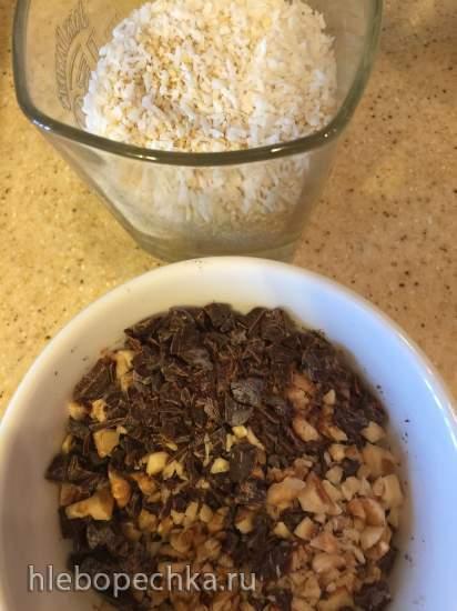 Ореховое печенье без муки «Минутка»