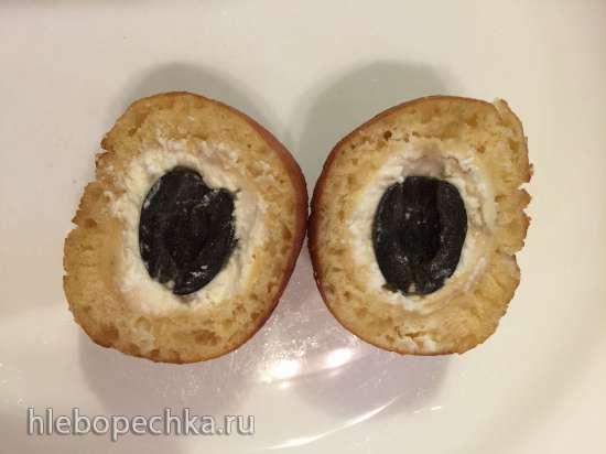 Пончики кукурузные с брынзой и оливками