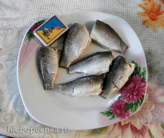 Рыба в томатном соусе (консерва) в скороварке Comfort Fly