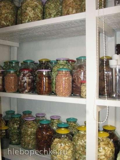 Хранение сушеных и вяленых продуктов