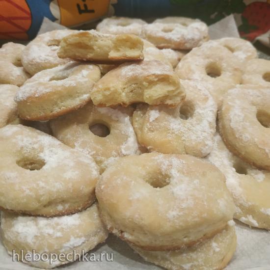 Дрожжевое печенье «Бублички»