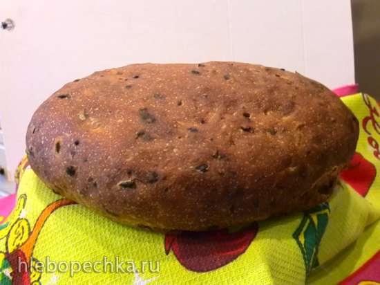 Итальянский пшеничный хлеб  (хлебопечка)